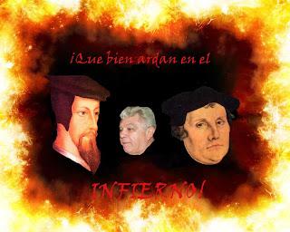 Que bien ardan en los infiernos