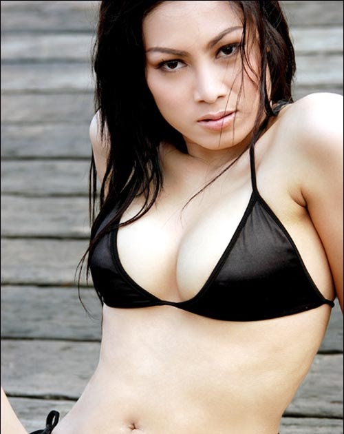 rachel gadis perawan with exotic swimsuits cewek cantik