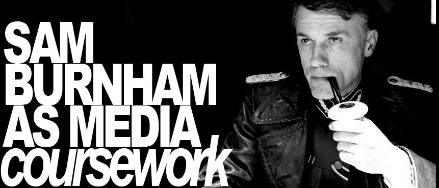 Sam Burnham AS Media Coursework