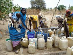 water in Darfur - sudan