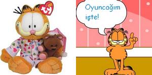 oyuncak garfield resmi
