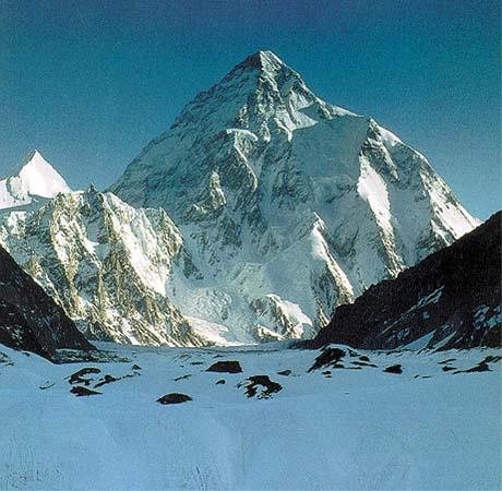 K2 Mountain Vs Everest Homework: World's highest mountain