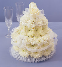 Wedding Flower Cake