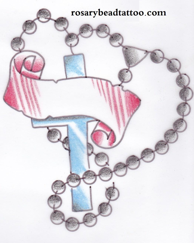 the hub online free rosary bead tattoo designs. Black Bedroom Furniture Sets. Home Design Ideas