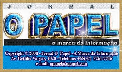 """Jornal """"O Papel"""" """"A Marca da Informação"""