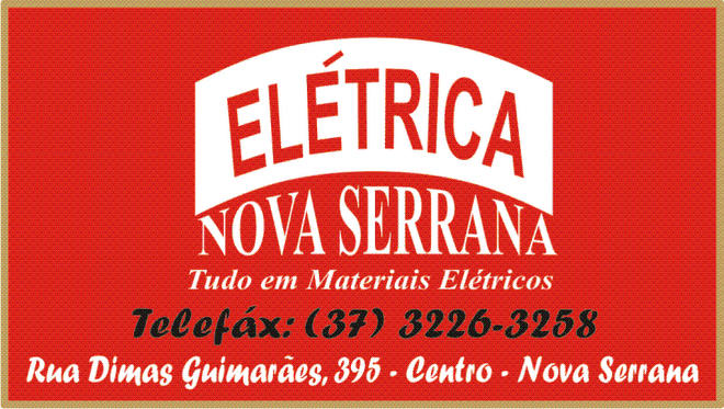 ***  Elétrica Nova Serrana  ***