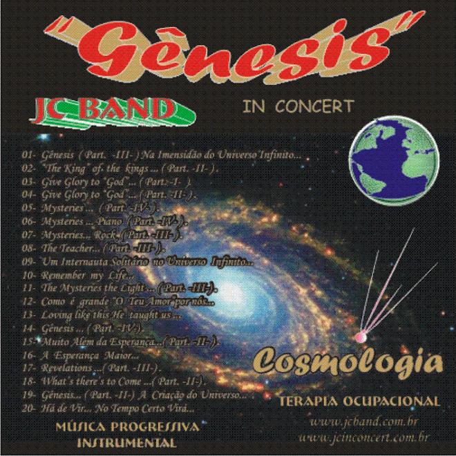 *** Gênesis - Capa  de CD de JC