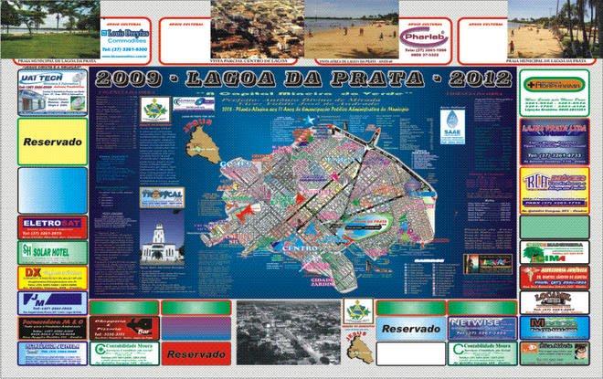Planta Oficial de Lagoa da Prata