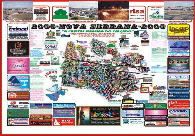 Planta Cartográfica Oficial da Cidade - 2005 à 2008