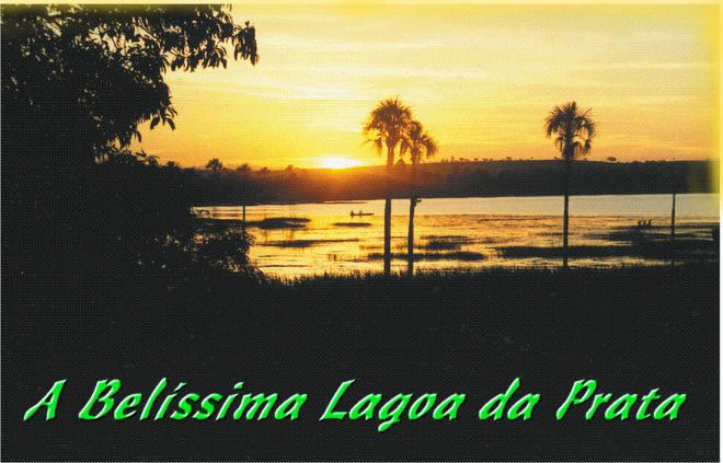Crepúsculo na Praia Municipal de Lagoa da Prata
