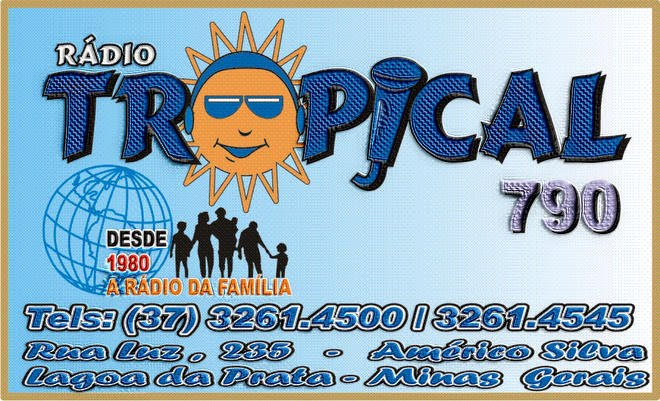 Rádio Tropical de Lagoa da Prata - Minas