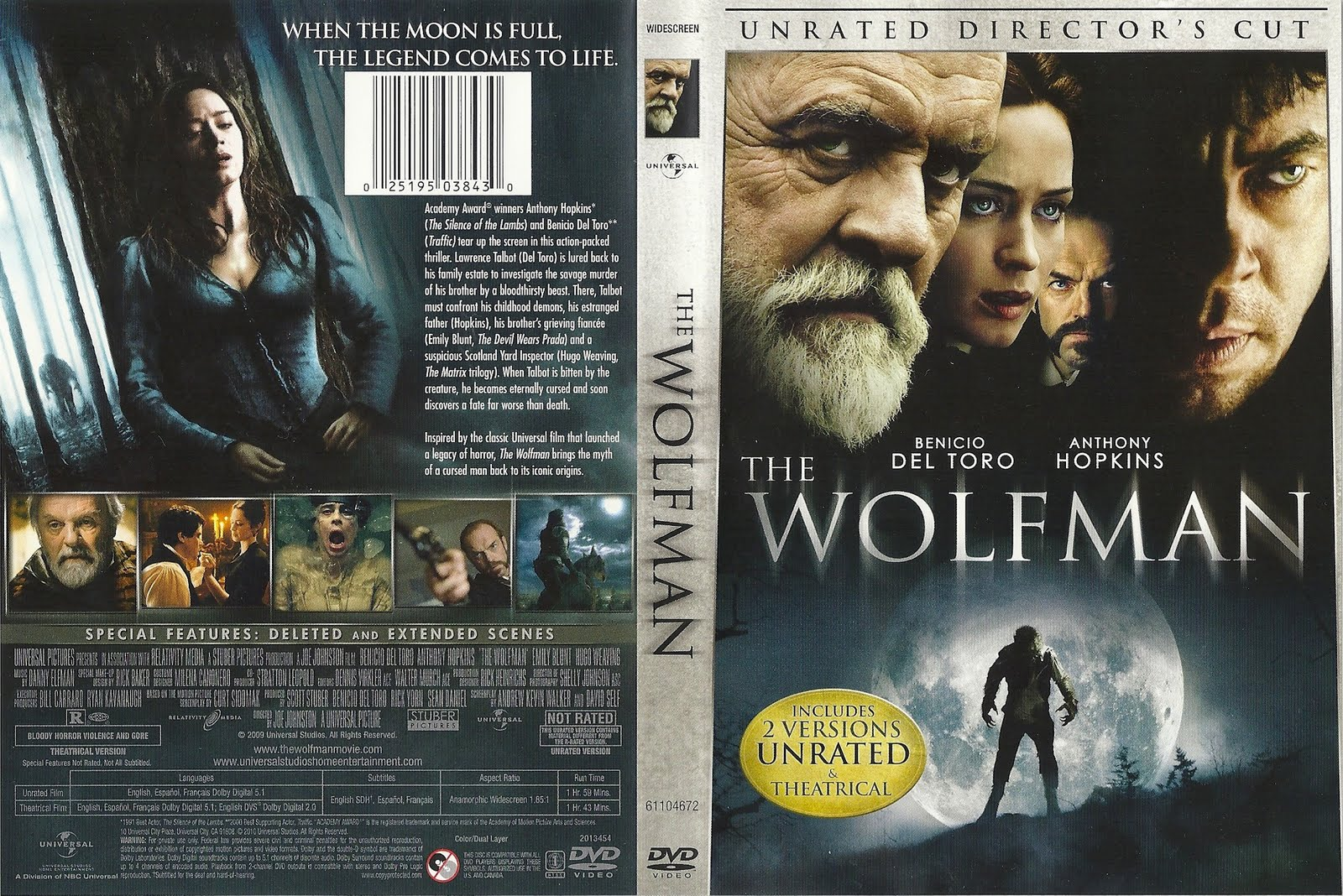 DVD Lables: The Wolfma...