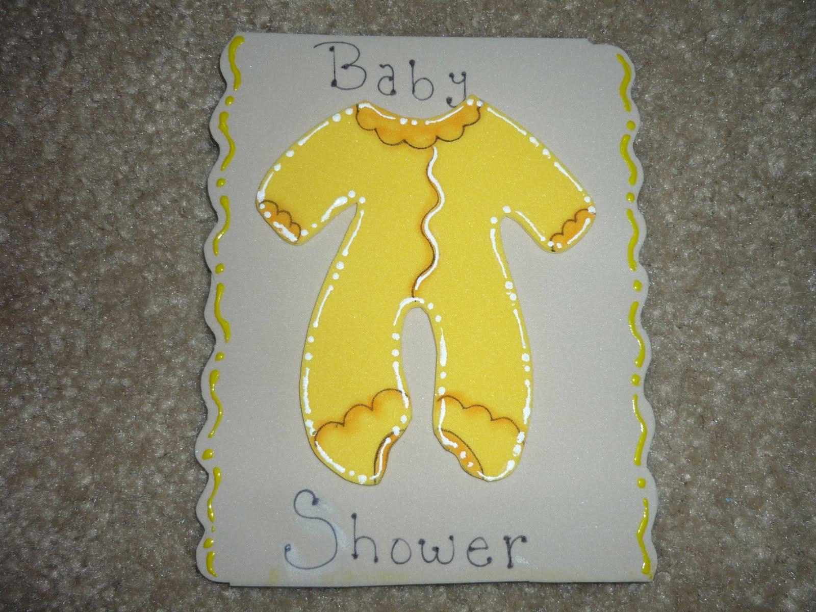 Mameluco para baby shower