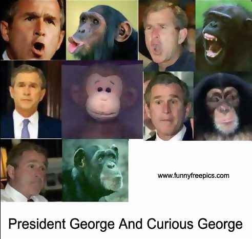 george w bush funny pictures. george w bush funny.