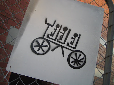 bike shed art