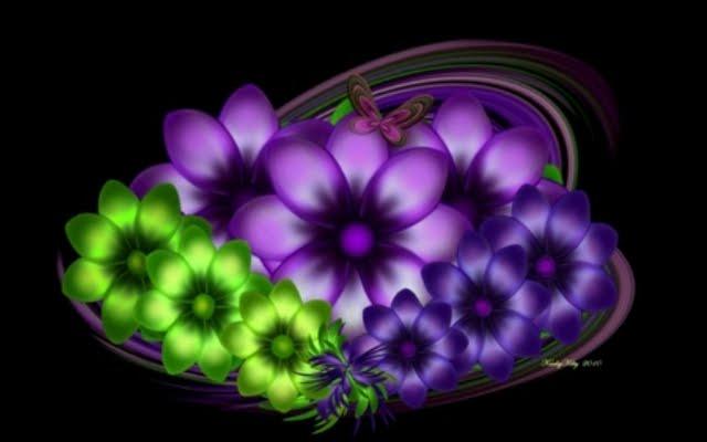 383061 - Digital Flowers