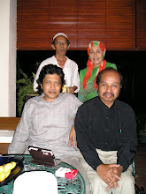 With the Malaysian writer Dato Bahar Zain