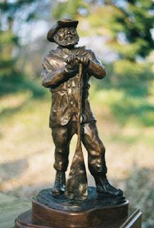Verlen Kruger statue