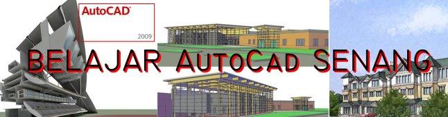AutoCad belajar senang