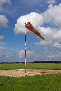 Windsock at Morlaix airport