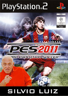 Download Pes 2011   NTSC   Narração Silvio Luiz    PS2