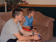 Playing Game Cube with Dad