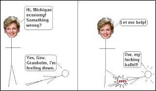 Granholm is an idiot