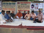 Protest against BT Brinjal on World Food Day at PATNA (Bihar) by the Activists & farmers