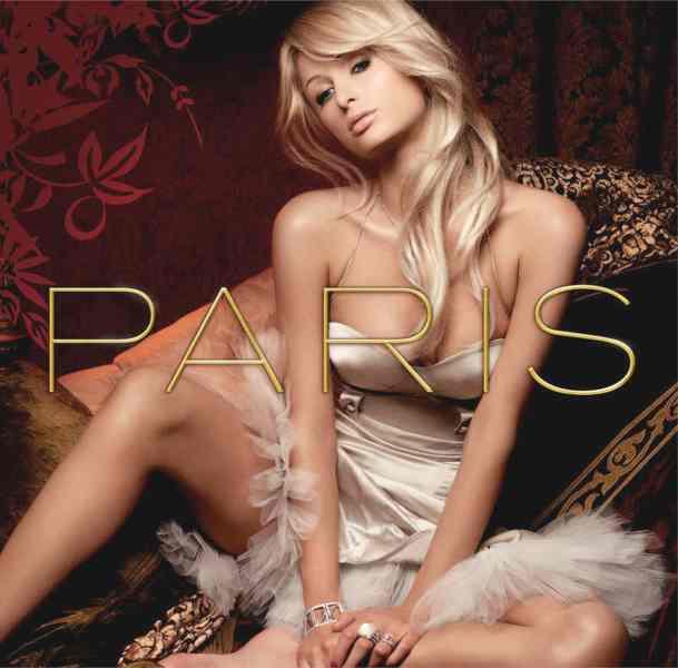Paris Hilton album cover little lisa in adult