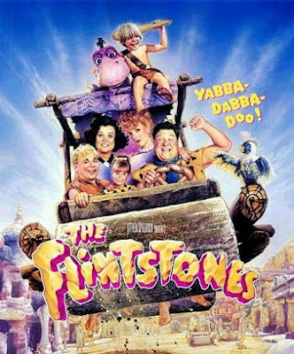 From the 1994 critically panned live action remake of The Flintstones, ...