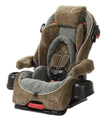 Safety St Alpha Omega Elite Convertible Car Seat Pretty Paws