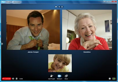 skype 5 video chat