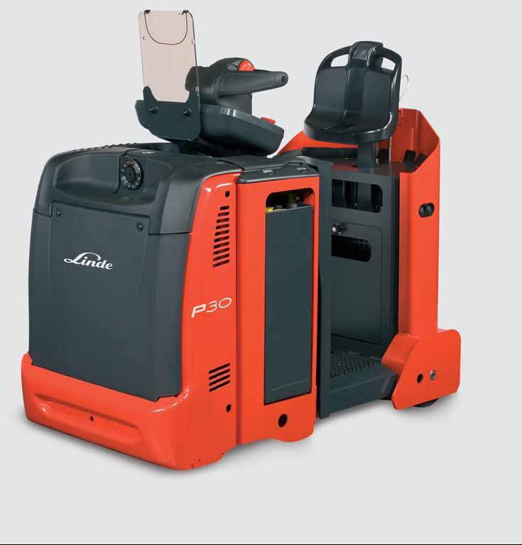 Linde Tow Tractor : Linde material handling tow tractors p c overview