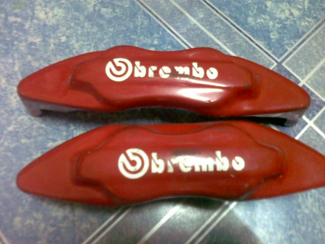 brembo brake covers. BREMBO brake clipper cover