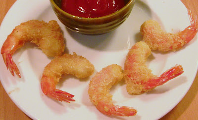 It is an excellent starters, prawn tempura can be made with plain flour and some cornflour. It was almost the same taste.