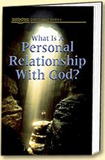 Get Personal With God