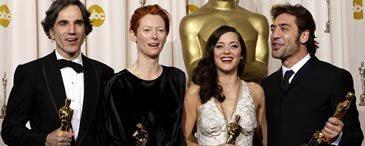 Actores Ganadores del Oscar 2008