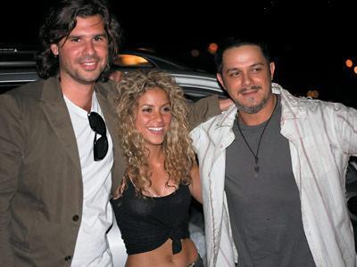 Antonio de la Rua, Shakira y Alejandro Sanz