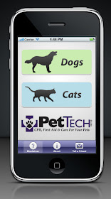 The New Pet Saver App from I-Tunes!