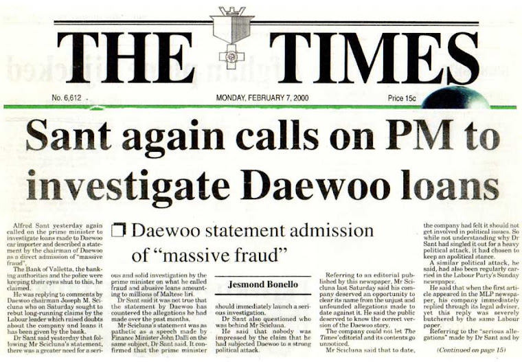 John Dalli's Involvement In Daewoo Covered Up
