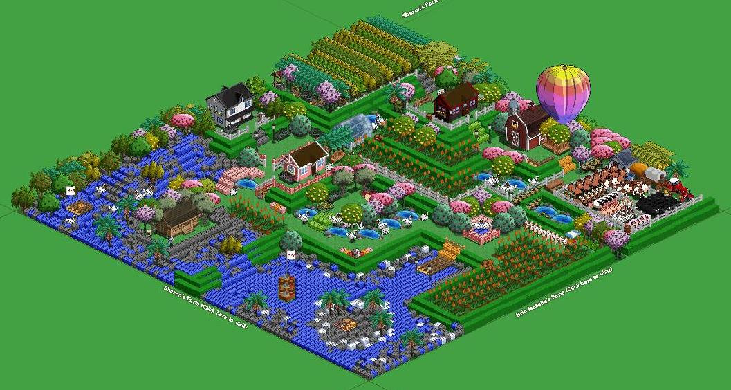 Farmville facebook farms