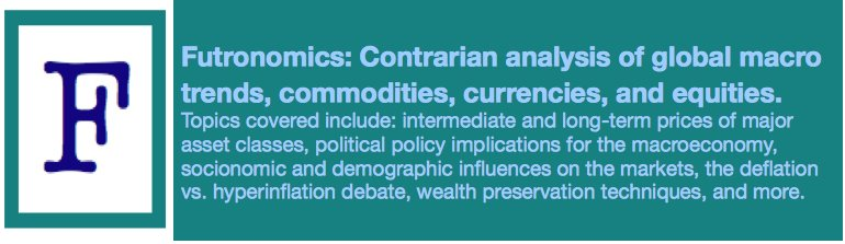 Futronomics: contrarian analysis of global macro trends, commodities, currencies, equities