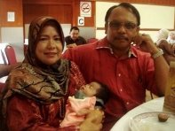 my dearest Babah & mama..
