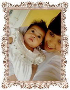 Mommy Mea & Baby Zara (2 month old)