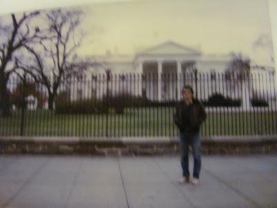 Steven E. Streight at the White House, Washington, DC