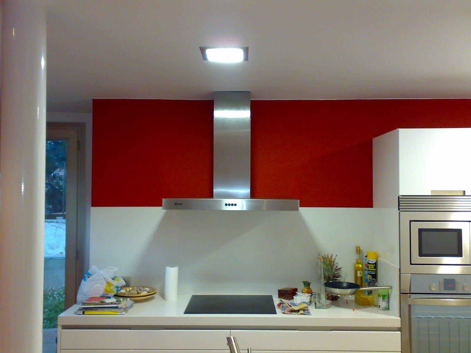 Dicopint 2002 s c l cocina en rojo - Pared cocina pintada ...