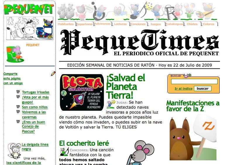 Pepi y su blog noticia noticia un peri dico para infantil for Que es un articulo cultural o de espectaculos