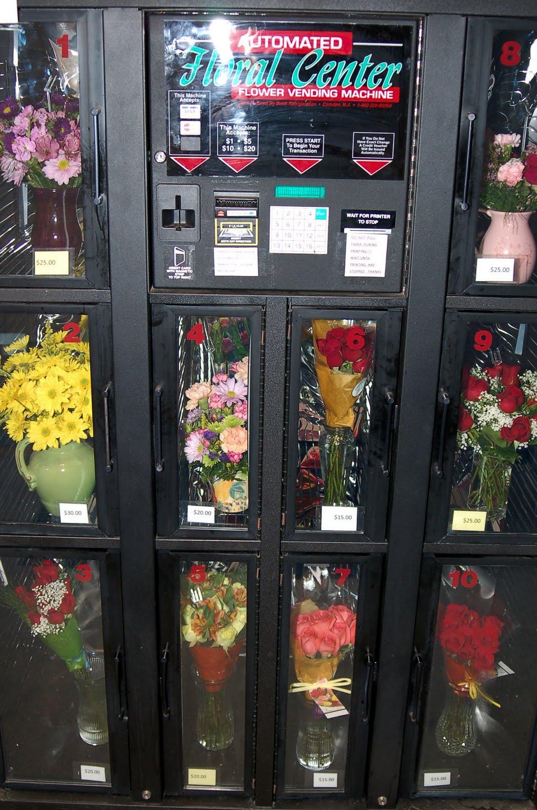 flower machine