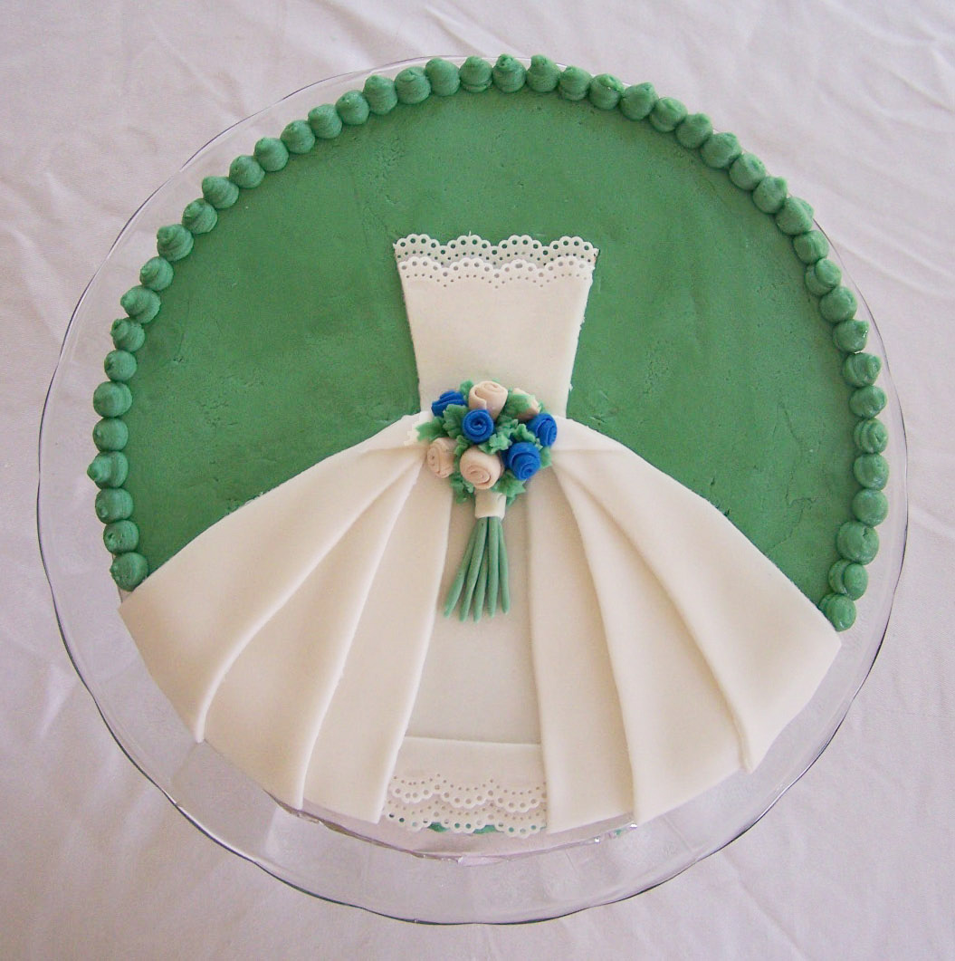 Cake Designs For A Bridal Shower : Bridal Shower Cake