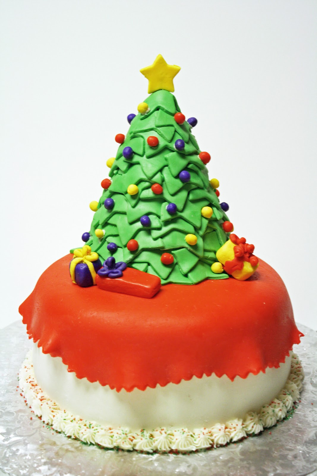 Images Of Christmas Tree Cake : Christmas Tree Cake
